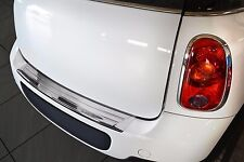 2011-2016 Mini Cooper Countryman R60 - Stainless Steel Rear Bumper Protector