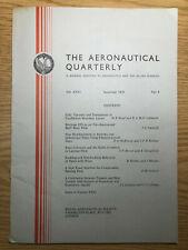 The Aeronautical Quarterly (Royal Aeronautical Society Journal) RARE Nov 1975
