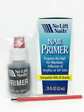 No Lift Nails- Nail Primer for Acrylics or UV Gels.75oz/22ml