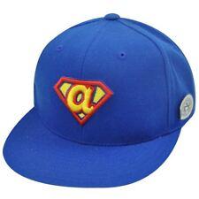 MLB ATLANTA BRAVES FITTED 7 5/8 FLAT BILL SUPERMAN HAT