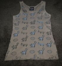 HARLEY DAVIDSON WOMEN'S TANK TOP TRUE LOVE ROUTE 66 TULSA OKLAHOMA - MEDIUM