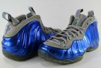 Nike Air Foamposite One Sport Blue Game Royal Wolf Grey Size 9.5 314996-401
