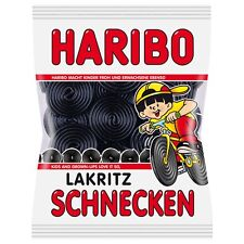 "4 x HARIBO ""Licorice Wheels""  (4 Bags x 200g) = 1.8lbs   **FREE SHIPPING**"