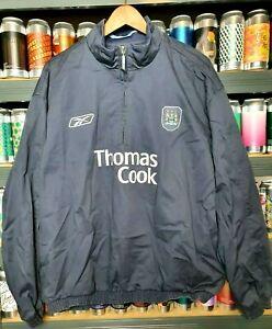 Manchester City Mens XXL 2XL 2005 - 2006 Reebok Football Jacket Vintage Rare