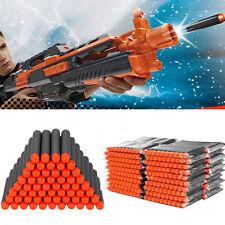 1000pcs 7.2cm Foam Darts for Nerf N-strike Elite Series Blasters Toy Gun Black
