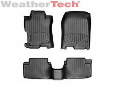 WeatherTech DigitalFit FloorLiner - 2008-2012 - Honda Accord Coupe - Black