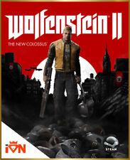 [Edizione Digitale Steam] PC Wolfenstein II (2) The New Colossus Invio Key email