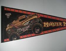 """Monster Mutt Monster Jam Pennant 12"""" x 29"""" Monster Truck Mancave Flag"""