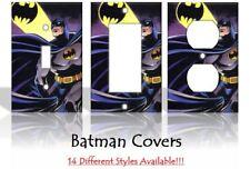 Batman Comic Book DC Comics Bat Signal Light Switch Covers Home Decor Outlet