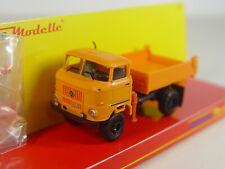 IFA W50 LKW orange  m. Ladekran - Espewe Busch HO Modell 1:87 -   95254   #E