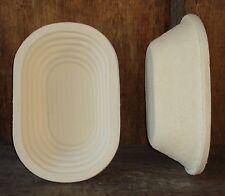 Gärkorb Brotform Gärkörbchen 0,75 kg Brote Rille inkl. Info perfekt Brotbacken