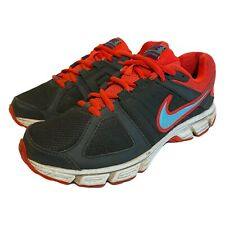 Nike Womens Downshifter 5 Athletic Gym Running Shoes Blue Red 537571-024 Size 8