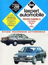Revue Technique Automobile - Toyota Carina II - Essence et Diesel - N° 299