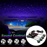 Car LED USB Atmosphere Light Sound Control Interior Ambient Star Lamp Decoration