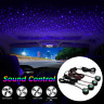 Car LED USB Atmosphere Light Sound Control Interior Ambient Star Lamp Decoration