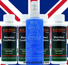 Blue Magic Waterbed Vinyl Cleaner 238ml and 4 x Conditioner 118ml