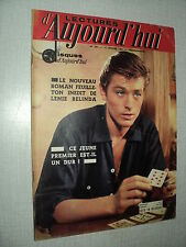 LECTURES D'AUJOURD'HUI 437 (14/1/61) ALAIN DELON MARIE LAFORET RAY CHARLES LANZA