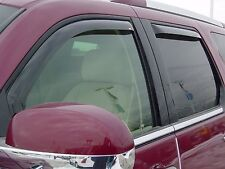 4-Piece In-Channel Wind Deflector for 2007 - 2014 Cadillac Escalade