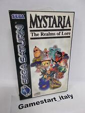 MYSTARIA THE REALMS OF LORE (SEGA SATURN) PAL VERSION USED BOXED