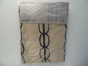 NEW Vilmie IKEA 301.749.56 2-Panel Curtain Window Treatment 57x98 Trim-to-Length