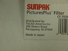GENUINE ORIGINAL TOCAD SUNPAK 67mm OPTICAL GLASS CROSS STAR 8 SCREW in FILTER