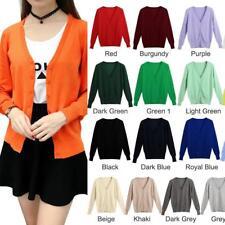 Women's Knitted Long Sleeve Cardigan Sweater Coat Jacket Outwear Knitwear A5K2