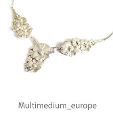 Art Deco Halskette Schmuck Collier Metall versilbert wohl WMF