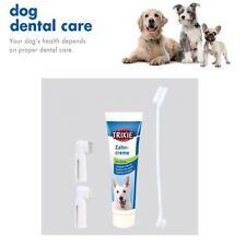 Perro cachorro Kit De Cuidado Dental Menta Pasta de Dientes & Cepillo De Dientes Dedo