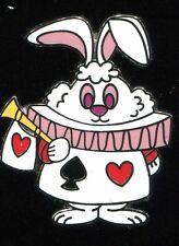 Alice in Wonderland Mary Blair Stylized Mystery White Rabbit Disney Pin 106299