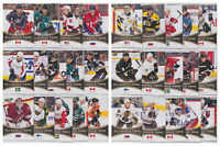 2010-11 Upper Deck All-World Team 28 Card Lot Toews Selanne Lidstrom NHL Hockey