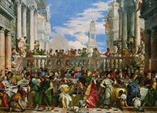 Art Puzzle 1000 Pieces Clementoni The Wedding at Cana Veronese Christian theme