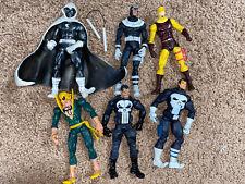 Marvel Legends lot loose Knights Bullseye Daredevil The Punisher Moon Knight