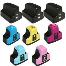 8P Ink Cartridges Comp For HP02 #02 PhotoSmart C7180 C7280 D7460 D7160 C8150