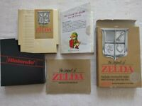 The Legend Of Zelda Nintendo NES Complete CIB With Map Manual Box and Coverslip