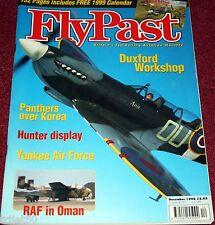 Flypast Magazine 1998 December Hunter,Shackleton,Boeing B-17,Swordfish