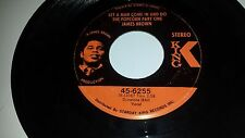 JAMES BROWN Sometime / Let A Man Come In And Do The KING 6255 SOUL FUNK 45