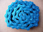 """CHAIN 1/2"""" x 1/8"""" BMX Colour Bicycle Fixie Single Speed Track Fixed Bike NEW CY"""