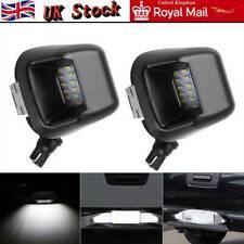 2LED Rear Bumper License Number Plate Lights For Nissan Navara D40 Lamp Bulb UK