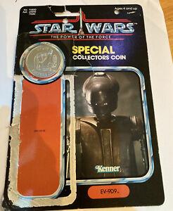 Vintage star wars last 17 EV9D9  Card  Back Torture droid coin 100% original