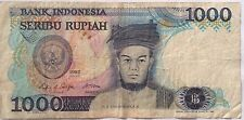 Indonesia 1000 Rupiah 1987 UON 116217
