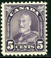 Canada 1930 Admiral 5¢ Violet Scott #169  MNH H857