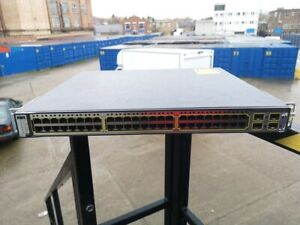 Cisco Catalyst 3750 Series  WS-C3750G-48PS-S  48 Port Gigabit POE Switch