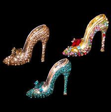 Tolle Brosche Pumps Highheels Schuh verschiedene Farben zur Wahl