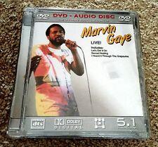 Marvin Gaye Live! 5.1 Surround Sound DVD Audio Sealed!
