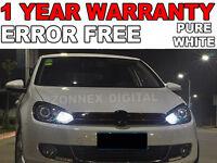 VW GOLF MK6 Front Side Light Lamp Xenon White Canbus LED Bulb 12V W5W 501