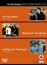 On The Buses/Mutiny On The Buses/Holiday On The Buses 1972 DVD NEW