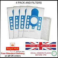 FITS MIELE GN COMPLETE C2 EXCELLENCE POWERLINE 10931750 x 4 DUST BAGS 2 FILTERS