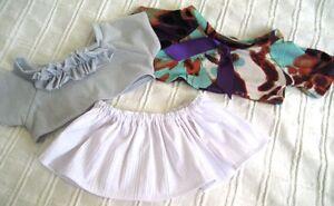 Teddy Bear Clothes, Handmade Leah Set of 2 Tops & Skirt