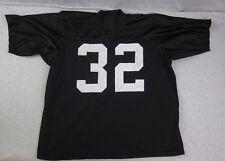 Vintage Sand Knit LA Raiders Marcus Allen #32 Sewn Jersey NFL Football