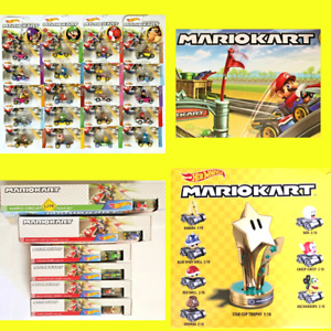 HOT WHEELS MARIO KART Assorted Karts & Tracks *COMBINED POST MULTIPLE PURCHASES